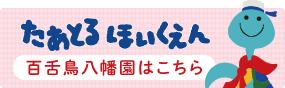 堺市堺区向陵東町の百舌鳥八幡駅から徒歩1分の少人数制保育園、たあとるほいくえん 百舌鳥八幡園のホームページはこちら